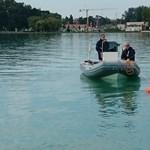 Kimentettek a rendőrök egy embert a Balatonból, pedig nem is akarta, hogy kimentsék