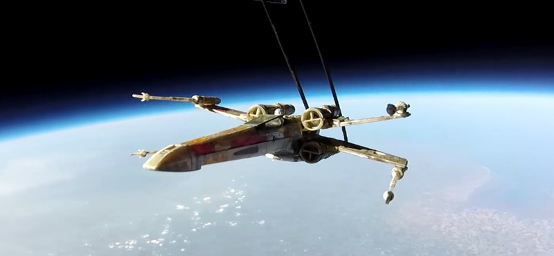 X-szárnyú vadászgépet és GoPro kamerát küldtek a világűrbe – ez a videó lett az eredmény