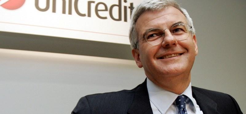 A volt UniCredit-vezér ülhet be a világ legrégebbi bankjának vezetői székébe