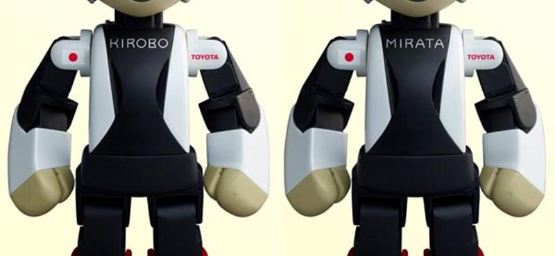 Űrtörténelmet írna egy aranyos robottal Japán