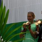 Kozák Danuta nem tud ellazulni, Kenderesi viszont igen - videónk a hazatérő olimpikonokkal