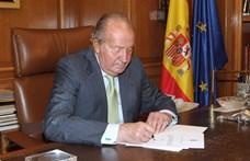 I. János Károly volt király elhagyja Spanyolországot