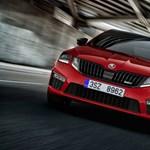 Cseh sportoló: új Octavia RS-t villant a Skoda
