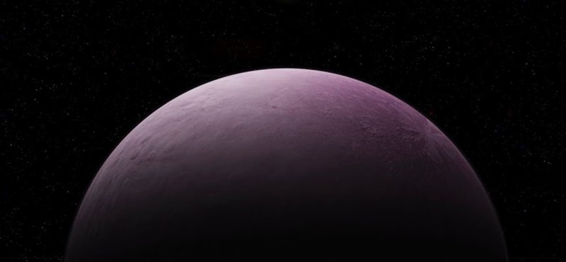 Találtak egy új bolygót a Plutó mögött, az egész rózsaszín