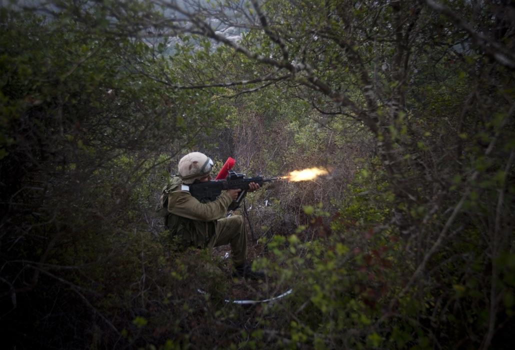 Katonai kiképzés Izrael északi részén az Elyakim kiképző központba. - Hét képei - nagyítás