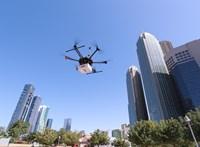 Egy drón kiszúrja, ha valahol szivárog a gáz