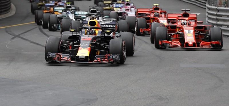 Ricciardo technikai problémák ellenére is nyert