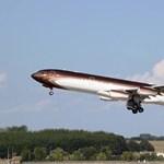 Fotó: Fantasztikus méretű magánrepülő fordult meg ma Ferihegyen