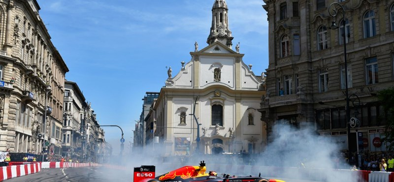 Max Verstappen fogja felforgatni idén Budapest belvárosát