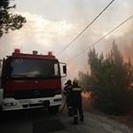 Húsz halottja van az Athén környéki futótüzeknek