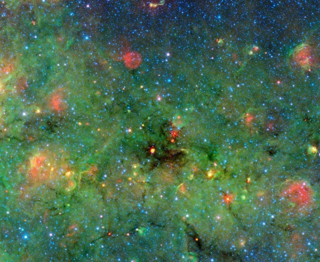 NASA. NASA Spitzer Űrteleszkóp, csillagok 2014.05.22.