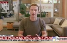 Egyszer csak megjelent a kanapén Mark Zuckerberg, és lopott adatokról kezdett halandzsázni