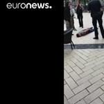 Videó is van a hamburgi késelő elfogásáról