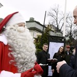 Vilmos herceg átadta a Mikulásnak fia karácsonyi kívánságlistáját