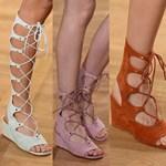 A ronda papucs kimegy a divatból, jön a ronda cipő – fotó