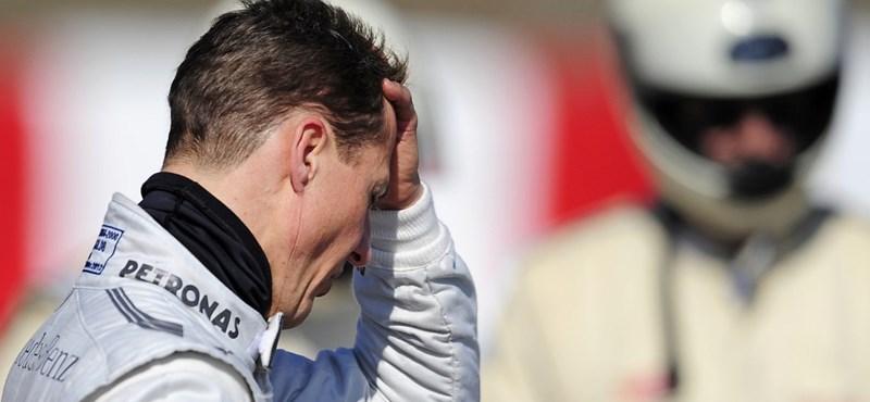Schumacher öthelyes rajtbüntetést kapott Bahreinben