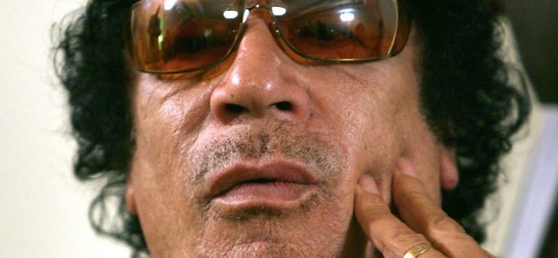 Kadhafinak unokája született