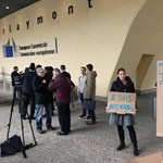 Brüsszelben tüntettek a Népszabadságért