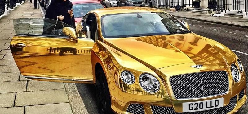 Ilyen luxusautókban unatkoznak az orosz milliárdos csemeték