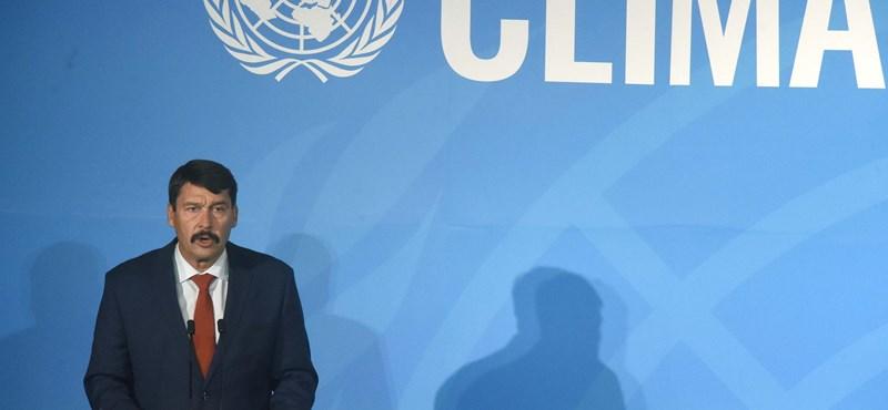 Áder: Magyarország a klímaváltozás nyertese lehet