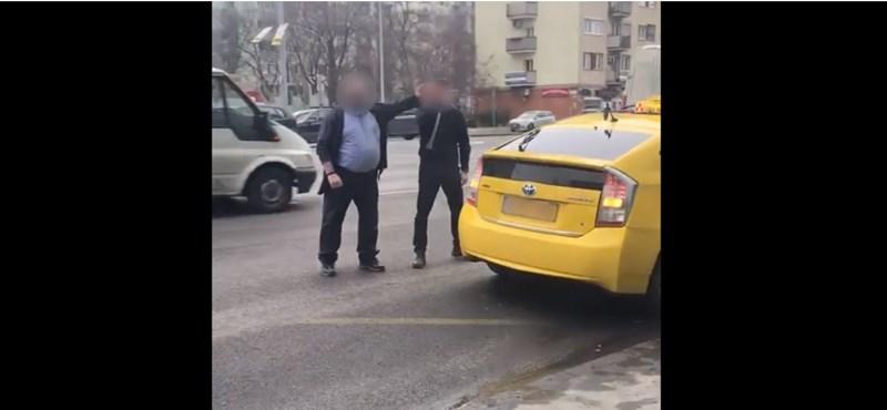 A BKV és a Főtaxi is vizsgálja a sofőrjeik verekedését