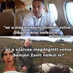 Röhög a net népe: Orbán repülőzését összehozták Semjén lelőtt rénszarvasával