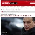 """Spiegel Online: """"Magyarország búcsúzik a jogállamiságtól"""""""