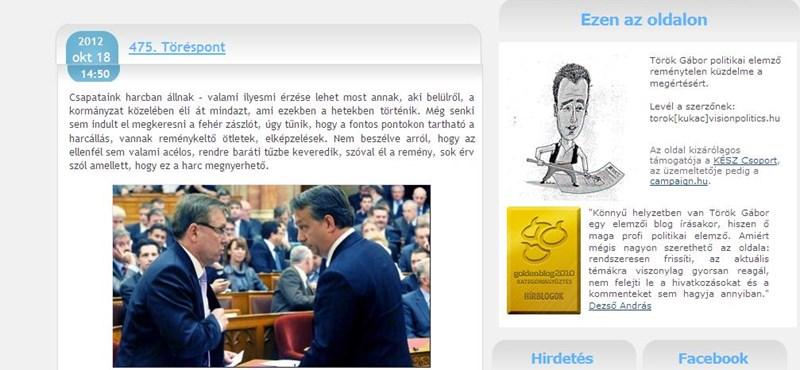 Török Gábor: szombaton az LMP előre lépett