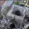 Ezen a drónvideón tisztán látszik, mi maradt a Notre-Dame-ból a tűz után