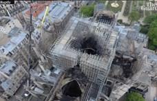 Dohányoztak a Notre-Dame-on dolgozó munkások, ismerte el a felújítást végző cég