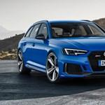 Családi kombiba oltott sportkocsi, itt az új Audi RS4 Avant