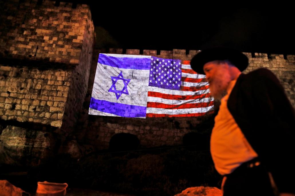 afp.17.12.06. - Izrael tüntetés Jeruzsálem fővárossá avatás