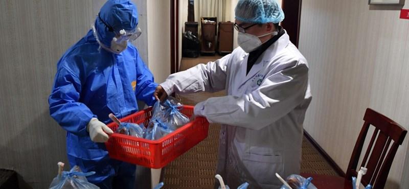 Pénteken minden korábbinál több áldozatot szedett a vírus