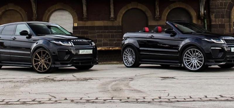 Lehet vitatni egy kabrió SUV értelmét, de ez a tuningolt Range Rover Evoque nagyon kívánatos