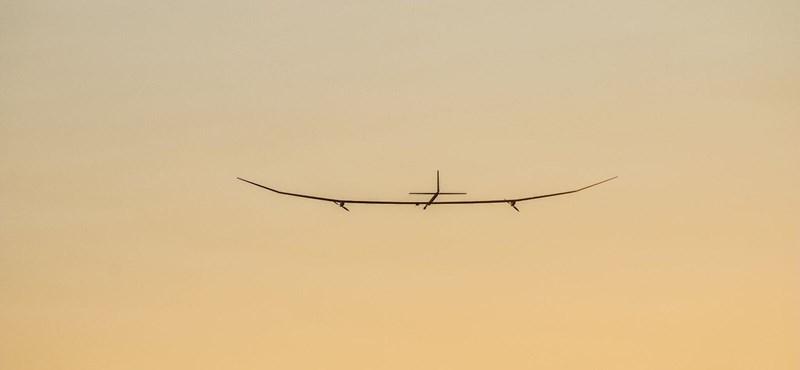 Sikeres volt a drónrepülő tesztje, ami egy évig maradhat leszállás nélkül a levegőben