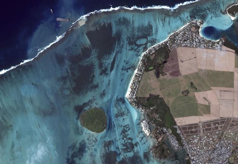 Nyakig olajosan próbálják megmenteni Mauritius földi paradicsomát - fotógaléria