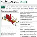 VG: emelnék a támogatott hitelek kamatát