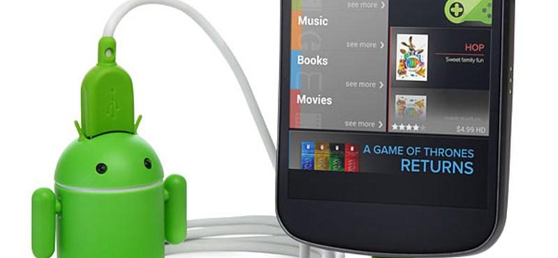 A nap kütyüje – Android USB töltő