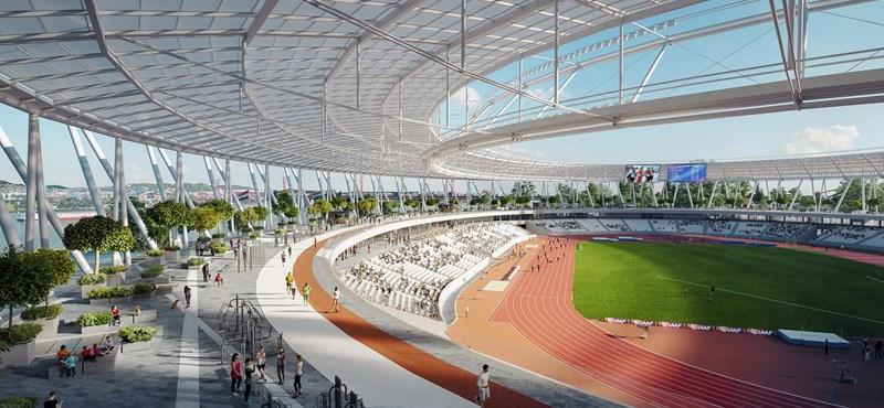 Még 1,9 milliárdot ad a kormány az atlétikai stadionra, a kézilabdára 1,3 milliárdot