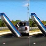 Vajon mekkora büntetést kaphat az autós, aki így vontat egy csónakot? – Videó
