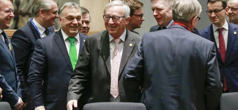 Brüsszeli kézitusáról tudósított Orbán Viktor