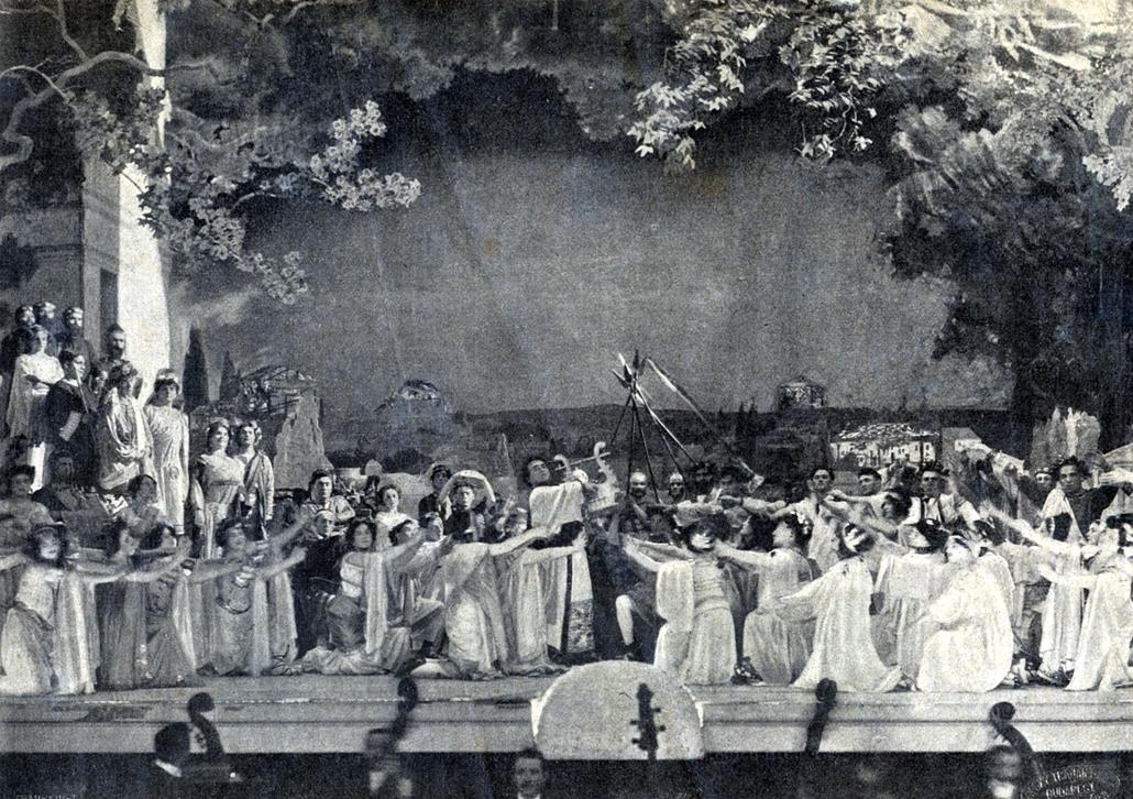 Erkel Színház - Nagyítás-fotógaléria - Quo Vadis opera - 5. felvonás, Népopera megnyitó előadása