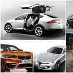 Tíz autó, amit nagyon várunk 2015-ben