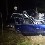 Súlyos balesetet élt túl két fiatal Mélykútnál