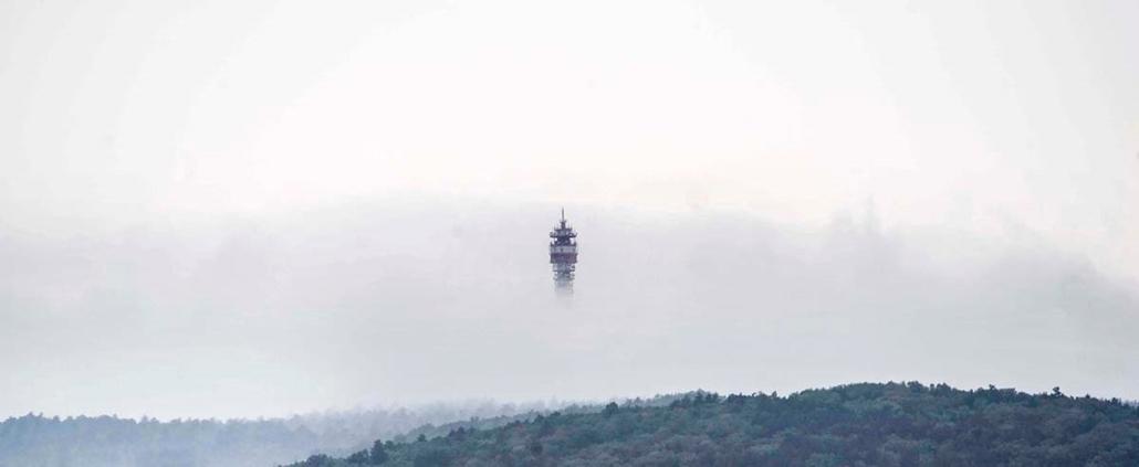 faz.15.05.21. - Hármashatárhegy, Felső-Kecske-hegy DVB-T adóállomás, adótorony - 7képei