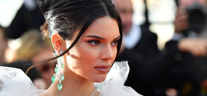 Kendall Jenner megint pucérra öltözött