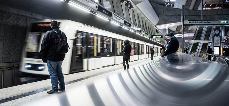 Új kocsikra volna szükség a 4-es metró vonalán