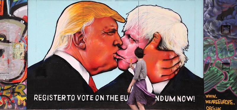 Boris Johnson rácsapta Trumpra a telefont