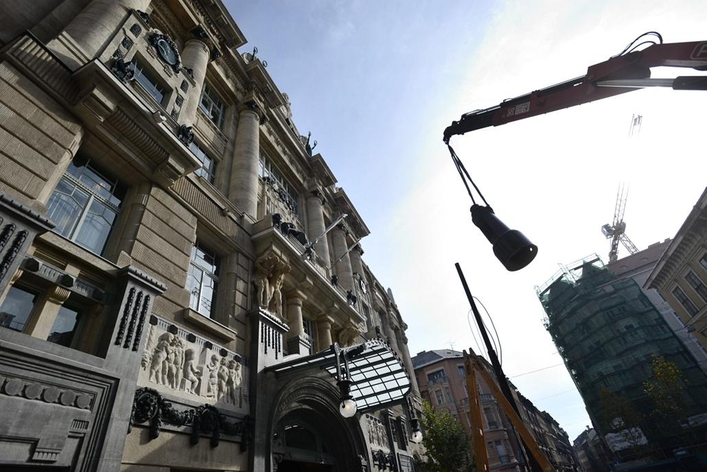 a Zeneakadémia megújult épülete - bejárás