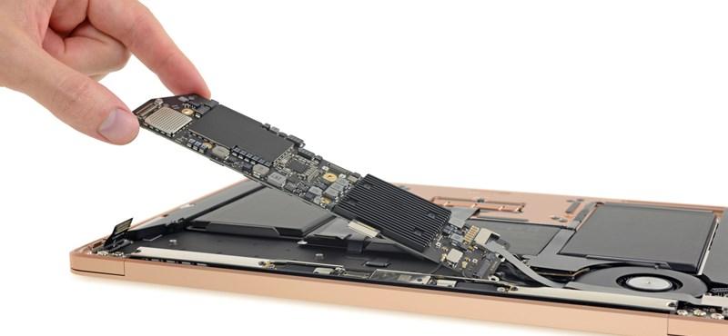 Szétszedték az új MacBook Airt, és nem voltak elájulva tőle a szerelők